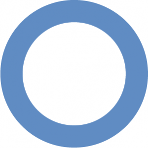 The Blue Circle, the international symbol of diabetes.